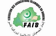 ATTAQUES AU BURKINA: la FAIB «condamne avec la plus grande fermeté ce massacre des populations»