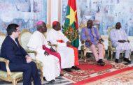 IVe CONGRES PANAFRICAIN DE LA MISERICORDE DIVINE : l'envoyé spécial du pape François fait le point au président du Faso