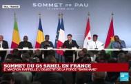 SOMMET DE PAU : Voici la déclaration conjointe des Chefs d'Etat