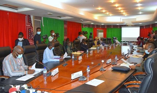 LUTTE CONTRE LA COVID-19 AU BURKINA: un nouveau comité national de gestion de la pandémie, installé
