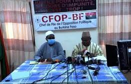 ELECTIONS COUPLEES DE 2020 : Le CFOP remonté contre l'ONI