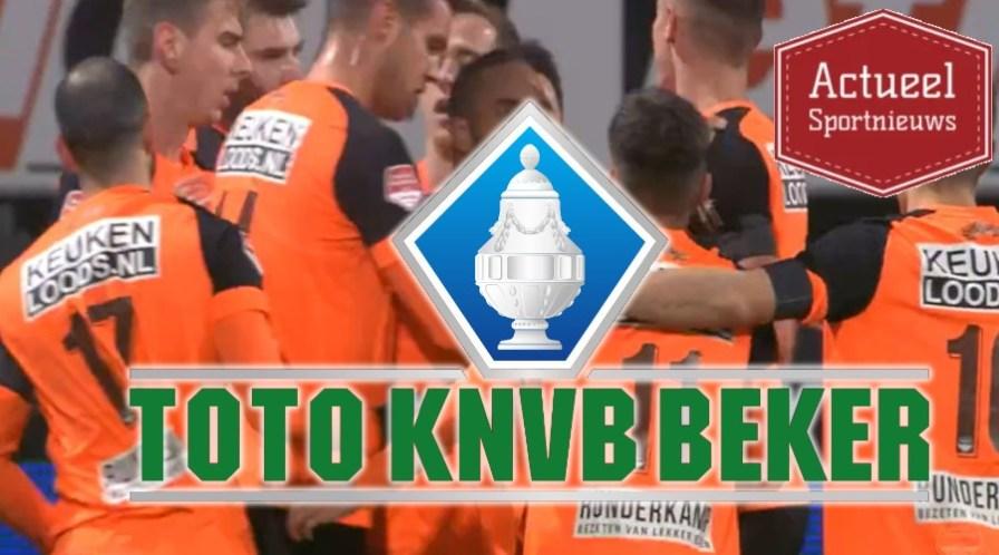 Programma achtste finale TOTO KNVB Beker