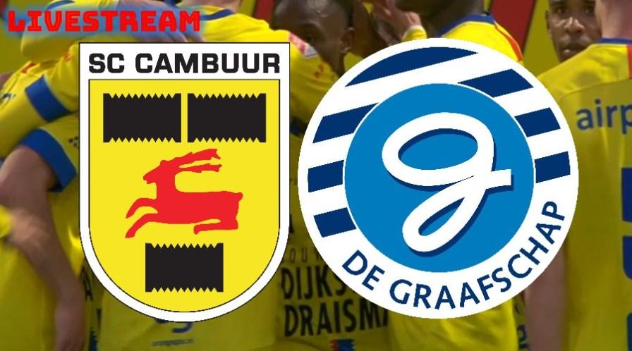 Cambuur - De Graafschap live stream