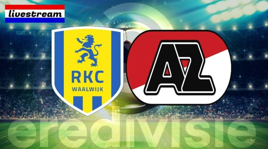 Eredivisie livestream RKC - AZ