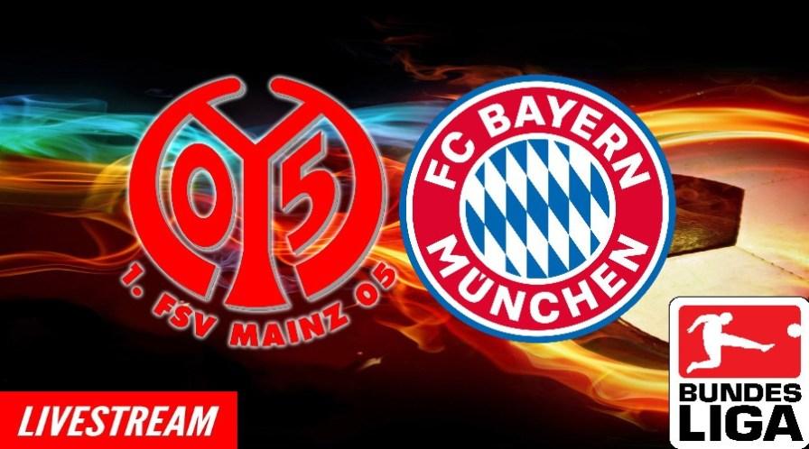 FSV Mainz 05 - FC Bayern München live stream