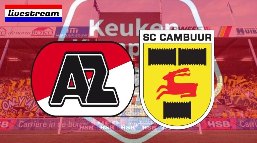 Jong AZ - SC Cambuur kijken via een live stream