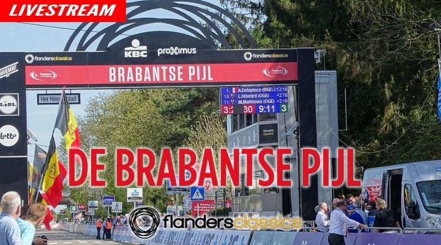 Livestream Brabantse Pijl 2021 wielrennen live