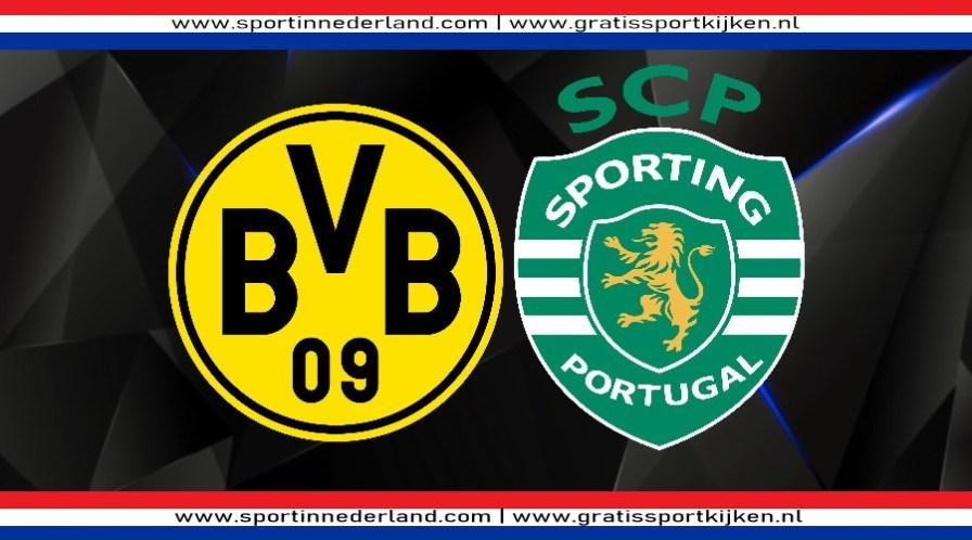 Champions League livestream Borussia Dortmund vs Sporting Portugal
