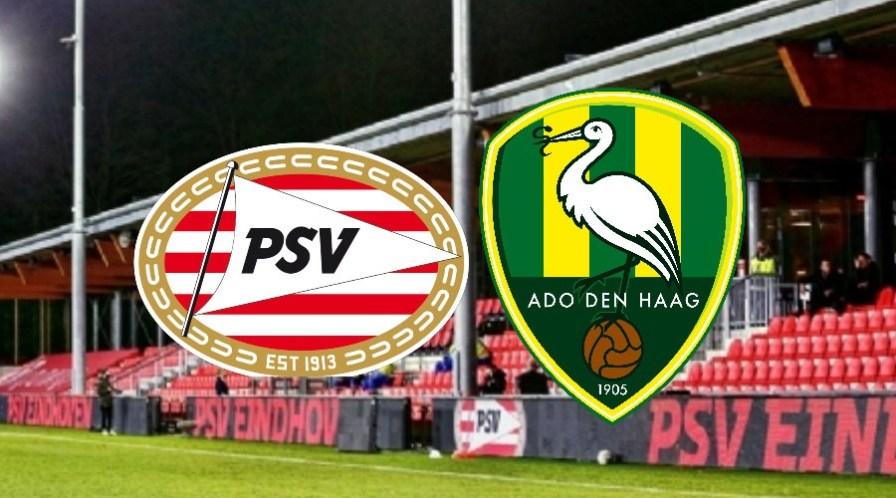 Jong PSV - ADO Den Haag gratis livestream