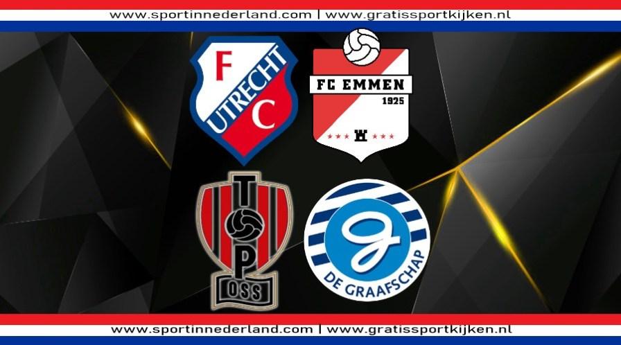 Livestream Jong FC Utrecht - Emmen & TOP Oss - De Graafschap