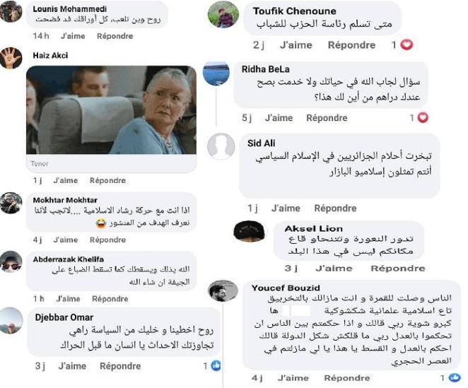 Les réactions des Algériens sur les réseaux sociaux aux déclarations de la Fraternité