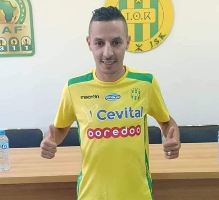 Mercato - Algérie : Bounoua officiellement libéré par la JS Kabylie