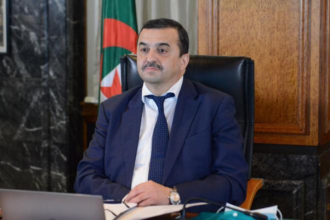 Mohamed Arkab, ministre algérien de l'Énergie et des Mines - Archives