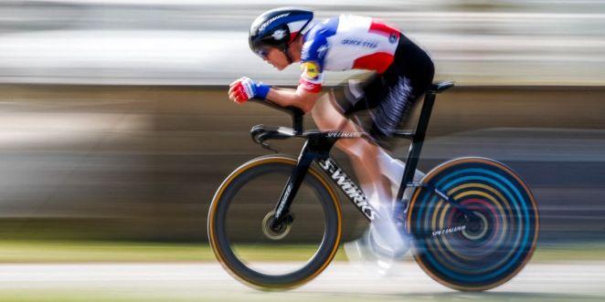 Rémi Cavagna lors du Tour de Catalogne, en mars.