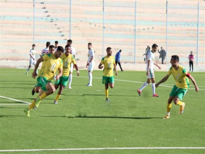 L'un des matchs du championnat d'Algérie
