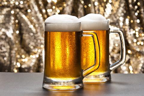 bière pailletée