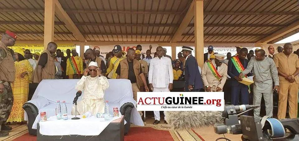 diiiakaria - Alpha Condé vante Fodé Bangoura,Kassory Fofana et pulvérise Cellou Dalein et Sidya Touré à Mandiana