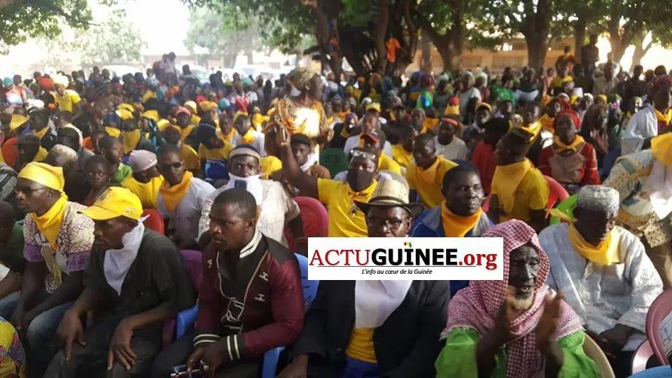 kinièran 1 - La très forte mobilisation pour accueillir Diakaria Koulibaly à Kinièran (Mandiana) Images et vidéos