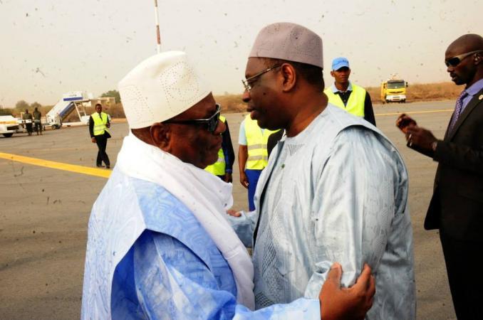 Macky Sall présente ses condoléances au Mali
