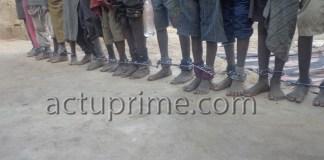 Traitement inhumain des talibés dans les daaras