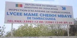 Un examen particulier de philosophie à Tambacounda