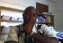 Portrait de Francis Traoré, Proviseur du lycée de Kidira