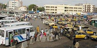 La grève des transporteurs a paralysé la ville