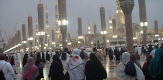 Les pèlerins quittent Médine pour la Mecque
