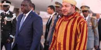 Mohammed VI à Dakar