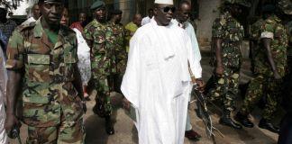 Yahya Jammeh soupçonné pour coup d'Etat