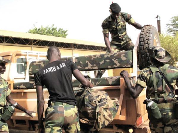 L'armée sénégalaise surveille la RN4