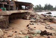 L'agression du littoral sénégalais