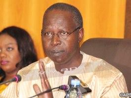 Le Premier ministre, Mahammed Boun Abdallah Dionne
