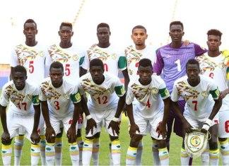 L'équipe nationale du Sénégal des moins de 20 ans