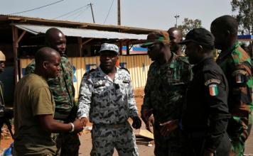 Les soldats mutins en Côte d'Ivoire