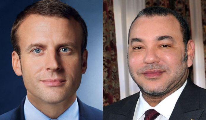 Emmanuel Macron et Mohamed VI