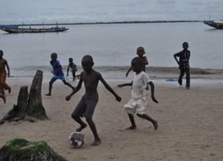 Les berges du fleuve Casamance