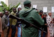 Raila Odinga et Uhuru Kenyatta