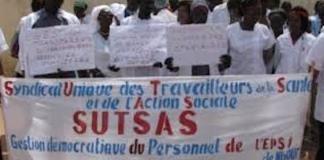 SUTSAS grève