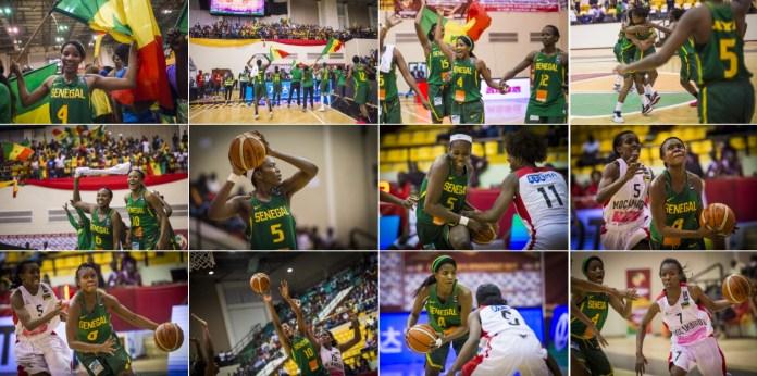 La finale de l'Afrobasket 2017