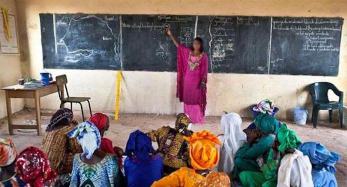 Le taux d'analphabétisme au Sénégal