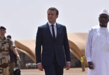 Emmanuel Macron en Afrique