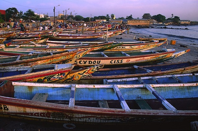 Le quai de pêche de Soumbédioune