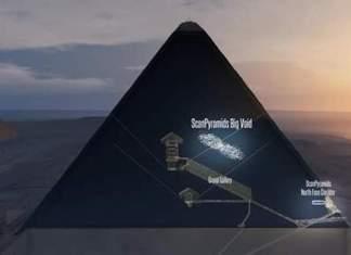Découverte dans la pyramide Khéops