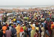 L'usine de transformation des produits de la pêche de Sandiara