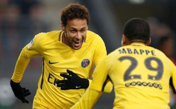 Neymar, Messi et Salah