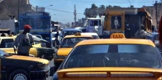 Les embouteillages à Dakar
