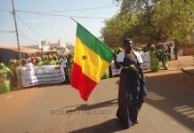 Les femmes de Kédougou ont défilé le 12 mars