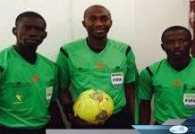 Malang Diédhiou et deux autres arbitres célébrés
