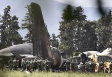 Crash d'avion militaire et deuil en Algérie
